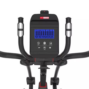 Panel of the Xt2000 eliptical X trainer
